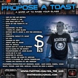 Spa – Propose A Toast