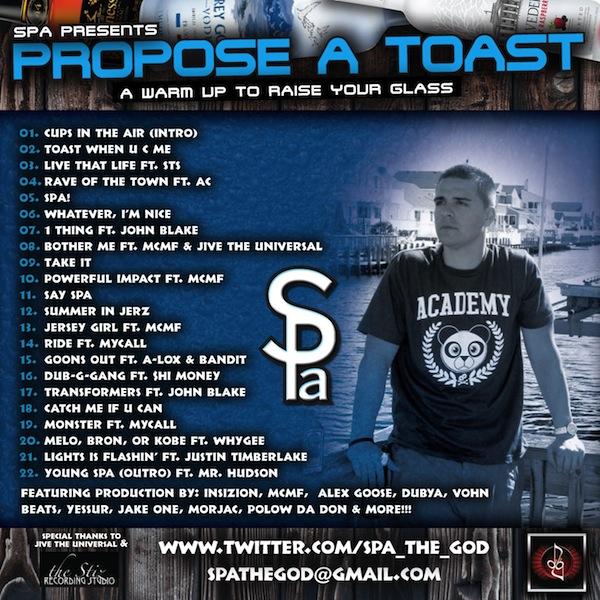 Spa Propose A Toast The Stiz Recording Studio