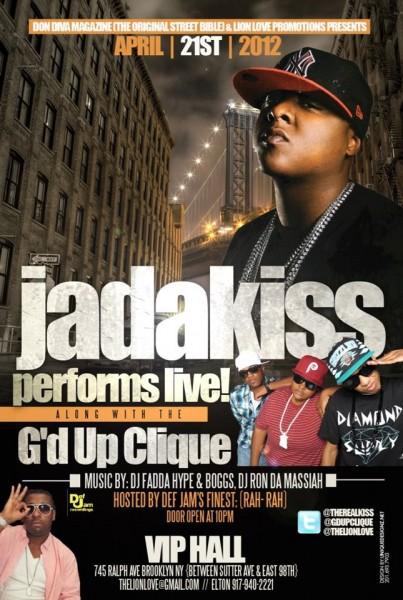 G'd Up Clique Opens For Jadakiss