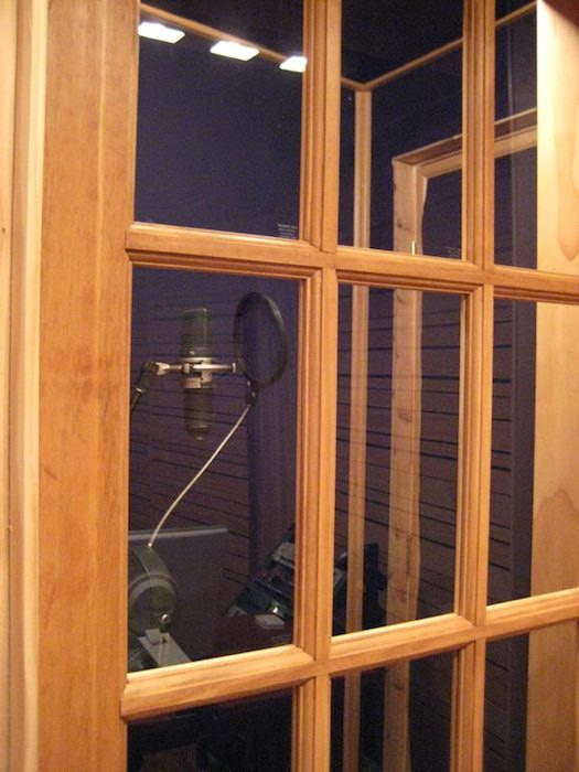 The Stiz vocal booth